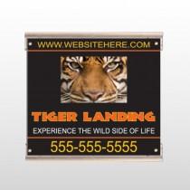 Tiger Landing 303 Track Sign
