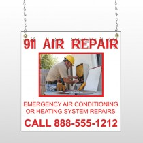 AC Repair 251 Window Sign