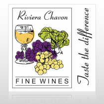 Wine 145 Custom Sign