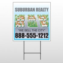 Suburbs 248 Wire Frame Sign
