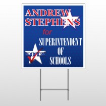 Superintendent 306 Wire Frame Sign