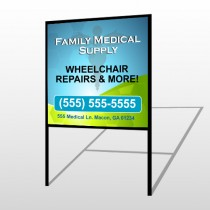 Family Medical 138 H-Frame Sign