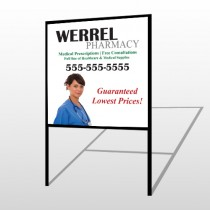 Pharmacist 104 H-Frame Sign