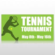 Tennis Tournament Banner