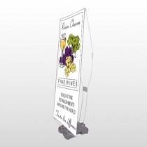 Wine 145 Exterior Flex Banner Stand