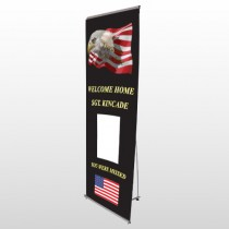 Eagle Flag 307 Flex Banner Stand