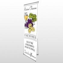 Wine 145 Flex Banner Stand