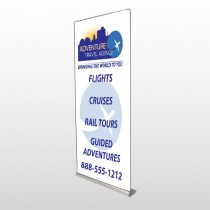 Travel Agent 28 Retractable Banner Stand