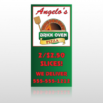 Pizza 129 Custom Sign