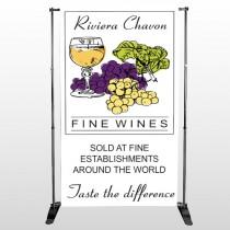 Wine 145 Pocket Banner Stand