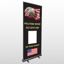 Eagle Flag 307 Retractable Banner Stand