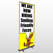 Small Business 54 Retractable Banner Stand