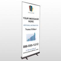Mortgage 177 Retractable Banner Stand