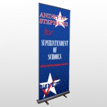 Superintendent 306 Retractable Banner Stand