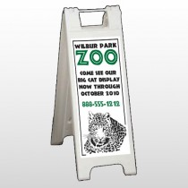 Zoo 127 A Frame Sign