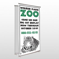 Zoo 127 Center Pole Banner Stand