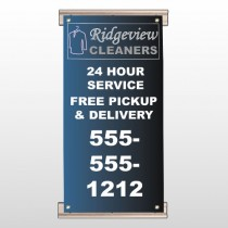Dry Cleaners 24 Track Banner