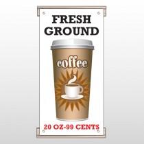 Coffee 119 Track Sign