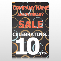 Anniversary Sale 14 Custom Sign