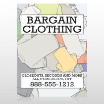 Bargain Bin 532 Sign