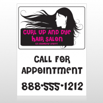 Hair 130 Custom Sign