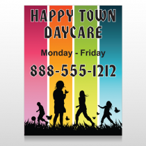 Happy Town 181 Custom Sign