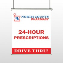 Pharmacy 333 Hanging Banner