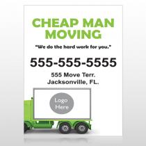 Moving 121 Custom Decal
