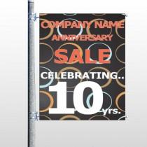 Anniversary Sale 14 Banner Pole