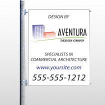 Architect 25  Pole Banner