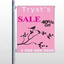Bird Branch Sale 08 Pole Banner
