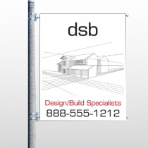 Builder 35 Pole Banner