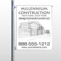 Builder 36 Pole Banner
