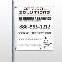 Eye Doctor 131 Pole Banner