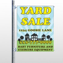 Neighbor Sale 549 Pole Banner