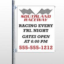 Racetrack 31 Pole Banner