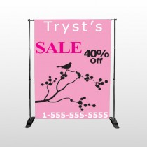 Bird Branch Sale 08 Pocket Banner Stand
