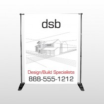 Builder 35 Pocket Banner Stand