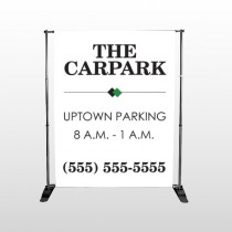 Car Park 122 Pocket Banner Stand