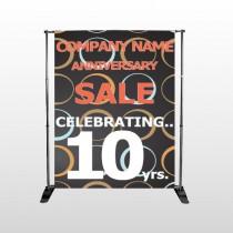 Anniversary Sale 14 Pocket Banner Stand