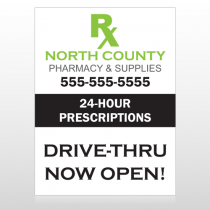 Rx North County 105 Custom Decal