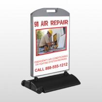 AC Repair 251 Wind Frame Sign