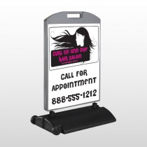 Hair 130 Wind Frame Sign