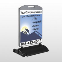 Roofing 258 Wind Frame Sign