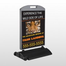Tiger Landing 303 Wind Frame Sign