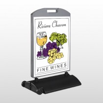 Wine 145 Wind Frame Sign
