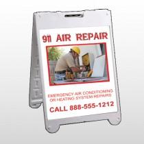 AC Repair 251 A-Frame Sign