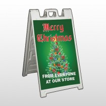 Merry Christmas 29 A Frame Sign