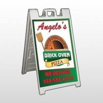 Pizza 129 A Frame Sign