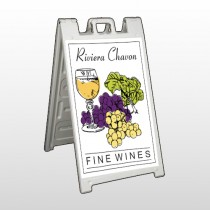 Wine 145 A Frame Sign